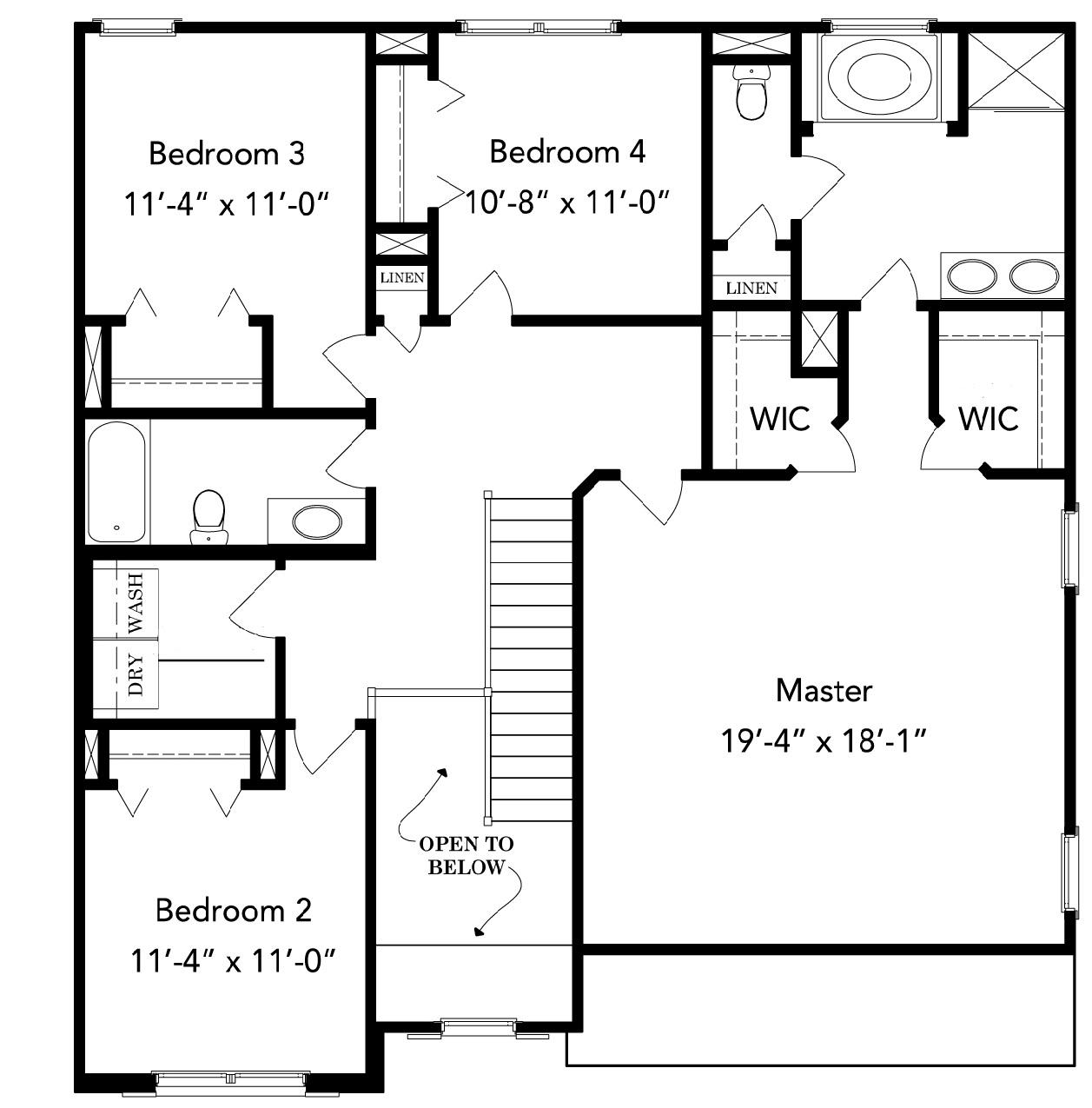 Williamsburg B Keystone Homes Inc